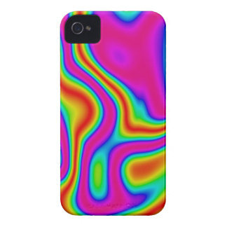 60s Liquid Color #1 iPhone 4/4S Barely There Case-Mate iPhone 4 Cases