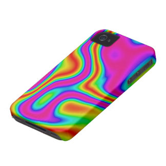 60s Liquid Color #1 iPhone 4/4S ID iPhone 4 Case-Mate Case