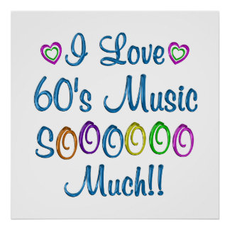 60s Love So Much Print