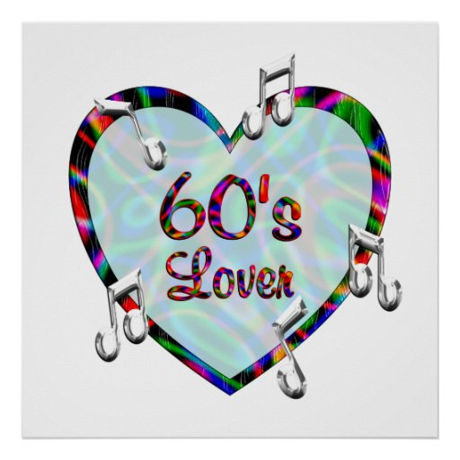 60s Lover Poster