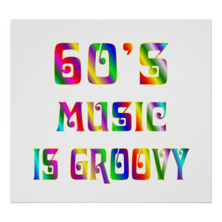 60s Music Poster