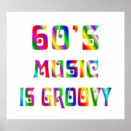 60s Music Print
