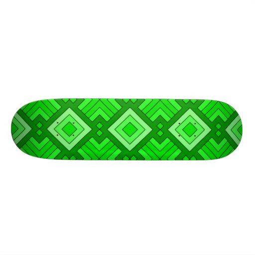 60s pattern MARLENE, green.jpg Skateboard Decks