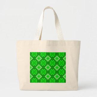 60s pattern MARLENE, green Bag