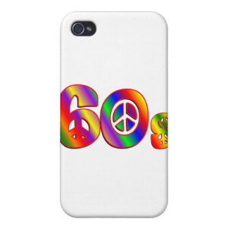 60s Peace Sign Case For iPhone 4