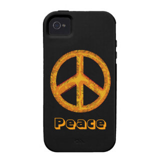 60's Peace Sign Retro Art iPhone Case Vibe iPhone 4 Covers
