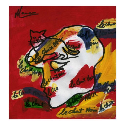 60s Peter Max style painting abstract art Posters   Zazzle  Peter Max 60s