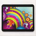 60s Psychedelic Explosion Mousepads