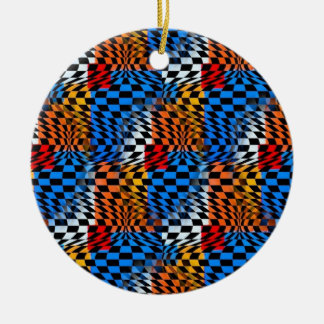 60s Retro Hanging Ornament