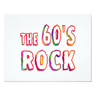 60s Rock Card