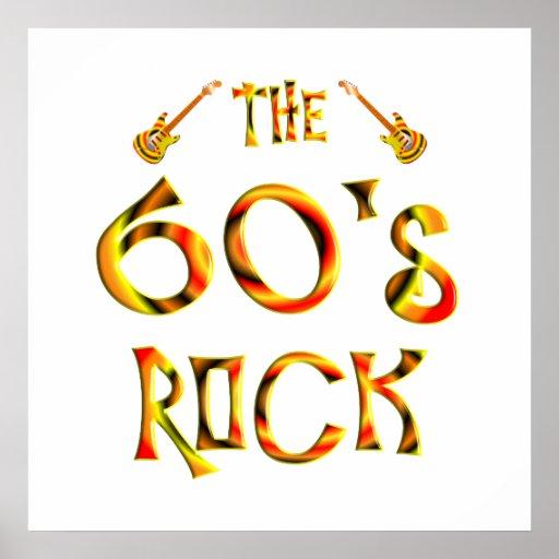 60's Rock Print
