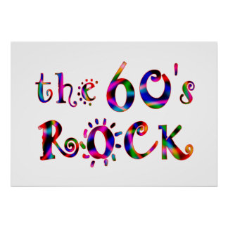 60s Rock Poster