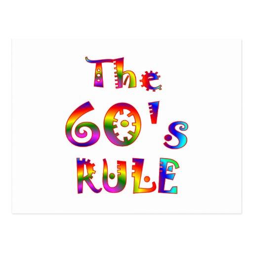 60s Rule Postcard