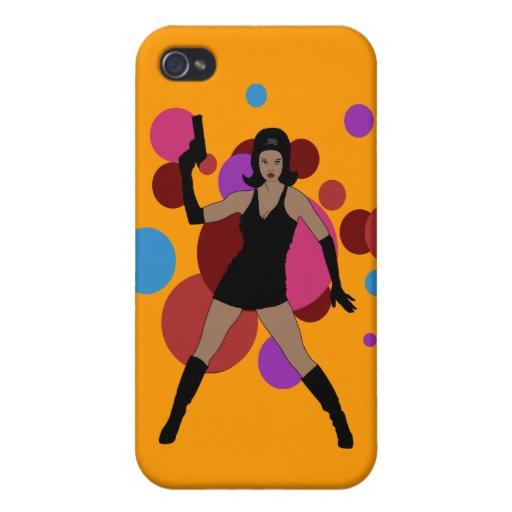 60s Spy Girl iPhone 4/4S Cases