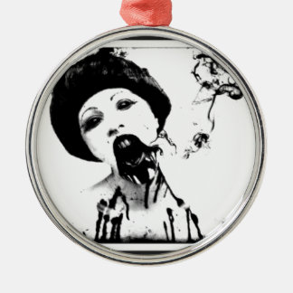 60s Zombie Christmas Ornament