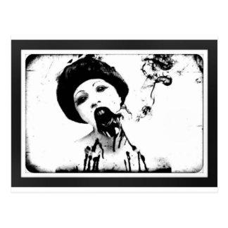 60s Zombie Postcard