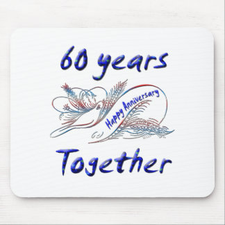 60th. Anniversary Mouse Mat