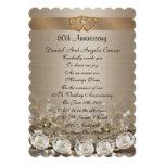 60th Anniversary Party Invitation