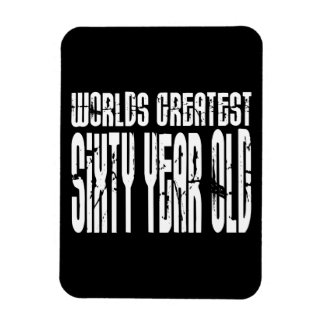 60th Birthday 60 World s Greatest Sixty Year Old Magnets