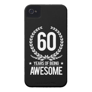 60th Birthday (60 Years Of Being Awesome) Case-Mate iPhone 4 Case
