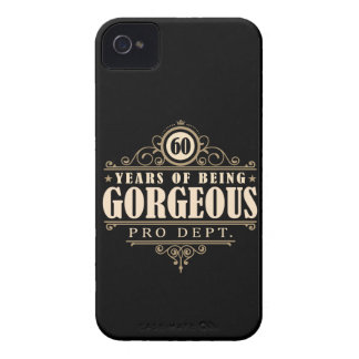 60th Birthday (60 Years Of Being Gorgeous) Case-Mate iPhone 4 Case