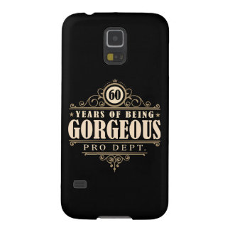 60th Birthday (60 Years Of Being Gorgeous) Galaxy S5 Cases