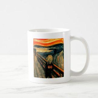 60th Birthday Basic White Mug