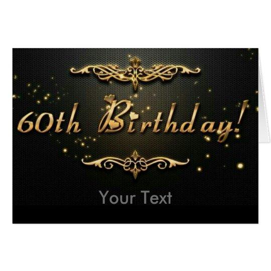 60th Birthday! Card