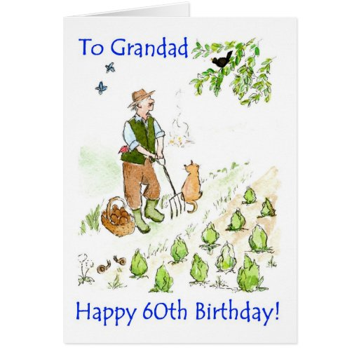 60th Birthday Card for a Grandfather