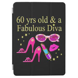 60TH BIRTHDAY DAZZLING DIVA DESIGN iPad AIR COVER