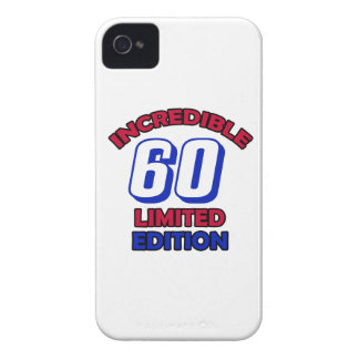 60th Birthday Design iPhone 4 Case