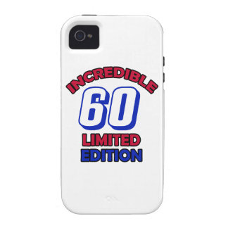 60th Birthday Design Case For The iPhone 4
