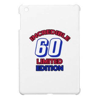 60th Birthday Design iPad Mini Cover