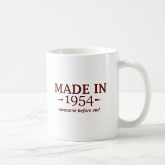 60th birthday designs basic white mug