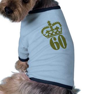 60th Birthday Doggie T Shirt