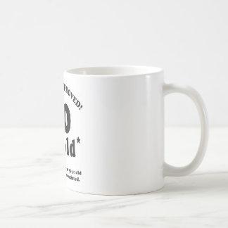 60th Birthday Gag Gifts Basic White Mug