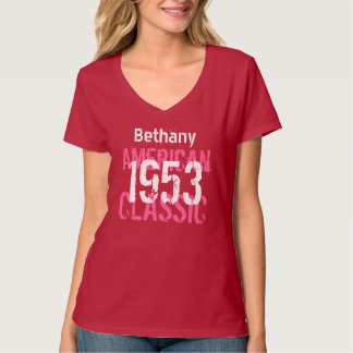 60th Birthday Gift 1953 American Classic Tee Shirt