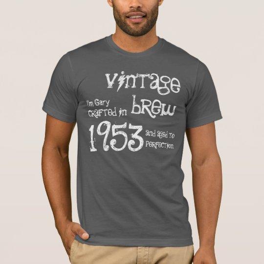 60th Birthday Gift 1953 Vintage Brew T-Shirt