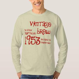 60th Birthday Gift 1953 Vintage Brew Tee Shirt