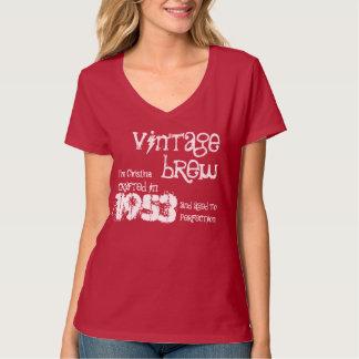 60th Birthday Gift 1953 Vintage Brew V01 T-Shirt