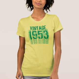 60th Birthday Gift 1953 Vintage Light Soft Pastels T Shirts