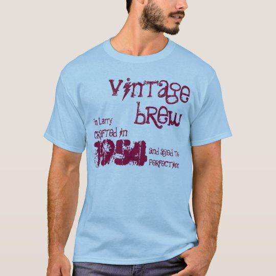 60th Birthday Gift 1954 Vintage Brew V07L T-Shirt