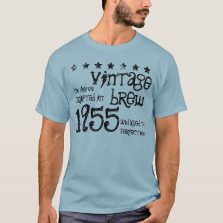 60th Birthday Gift 1955 Vintage Brew S01B3 T-Shirt