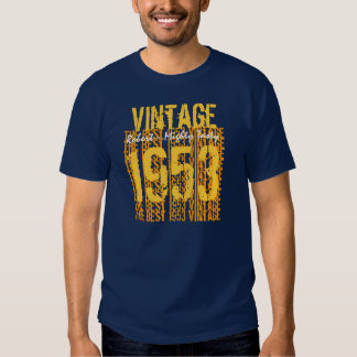 60th Birthday Gift Best 1953 Vintage Tshirts