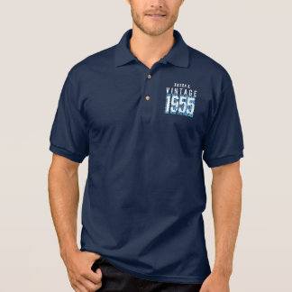 60th Birthday Gift Best 1955 Vintage V003C Polo Shirt