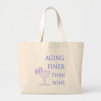 60th Birthday Gift Idea Large Tote Bag