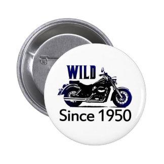 60th Birthday Gifts, 1950 6 Cm Round Badge