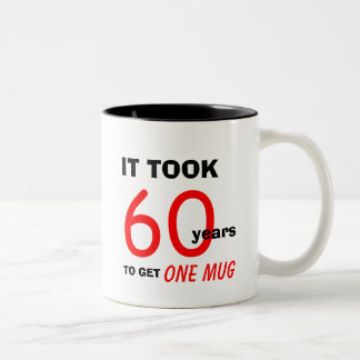 60th Birthday Gifts for Men Mug - Funny