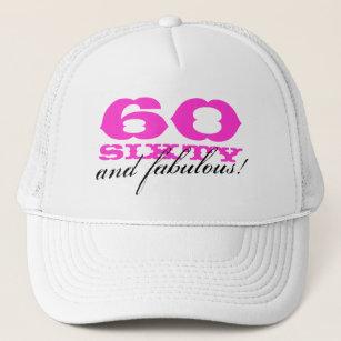 60th Birthday Hats Caps