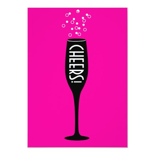 60th Birthday Invitation - Hot Mama Cheers!